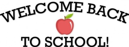 Image result for welcome back to school 2017-2018